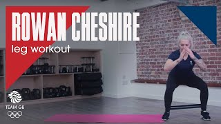 Rowan Cheshire's leg workout: Workout Wednesday 13.02.19