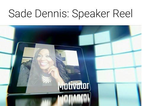 Sade Dennis, MS America's #1 Motivational and Multimedia Strategist