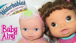 BABY ALIVE + TOYS R US + Waterbabies!