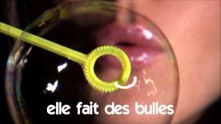 学法语 # 看影片學法語片學法語 # # Vocabulaire # elle fait des bulles