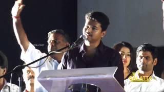 Vijay talks about Jiiva at Jilla 100 Days Celebration