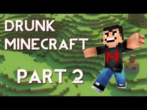 Drunk Minecraft #2 | CASTLE IN THE SKY