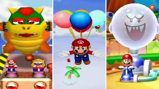 Evolution of Balloon Minigames in Mario Party (1998-2017)