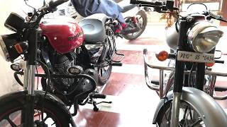 Differences Between Royal Enfield Thunderbird X and classic gun metal grey