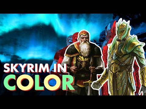 SKYRIM in true color - The ART!