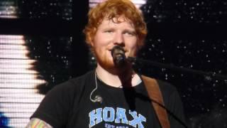 """Ed Sheeran """"Dive"""" St.Paul,Mn 7/1/17 HD"""