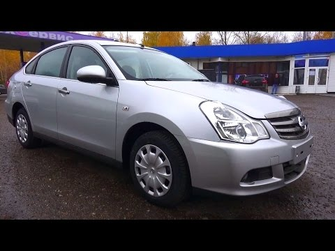 2014 Nissan Almera G15 Comfort. Start Up, Engine, and In Depth Tour.