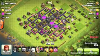 Awesome loot Clash Of Clans 812K Elixer and 442K Elixer