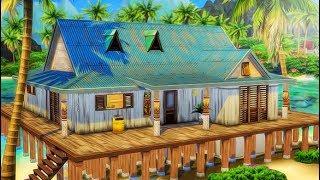 OUR NEW ISLAND BEACH HOUSE! 🏡🌴 | THE SIMS 4 // ISLAND LIVING