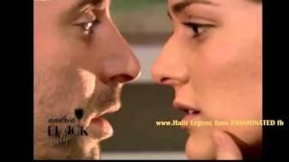 Halit Ergenc-Berguzar Korel.... Onur -Shehrazad ... kisssing and melting