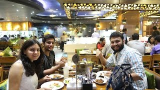 EATING RAW FISH @ GLOBAL FUSION | Mumbai