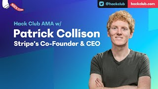 Download Lagu Hack Club AMA w/ Patrick Collison mp3
