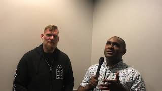 Josh Barnett with According to Woods at Lights Out Xtreme Fighting