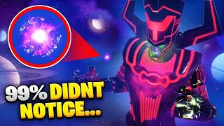 Fortnite GALACTUS Event SECRETS YOU MISSED!