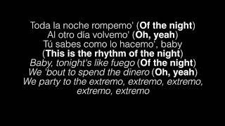 The Black Eyed Peas, J Balvin -  RITMO ( Bad Boys For Life) Lyrics