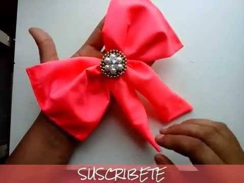 Maximo o de tela sin coser maxibows como hacer un mo o de tela sin coser mo os para el pelo - Como hacer un cabecero de tela ...
