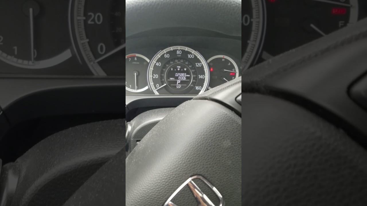 2014 Honda Accord Starter Problem