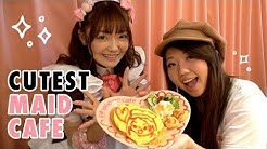 Visit a Japanese Maid Cafe in Tokyo, Japan