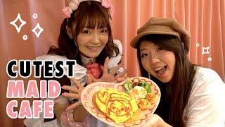 CUTEST Japanese Maid Cafe Experience in Tokyo, Japan