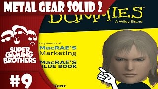 SGB Play: Metal Gear Solid 2 - Part 9 | Bomb Disposal For Dummies