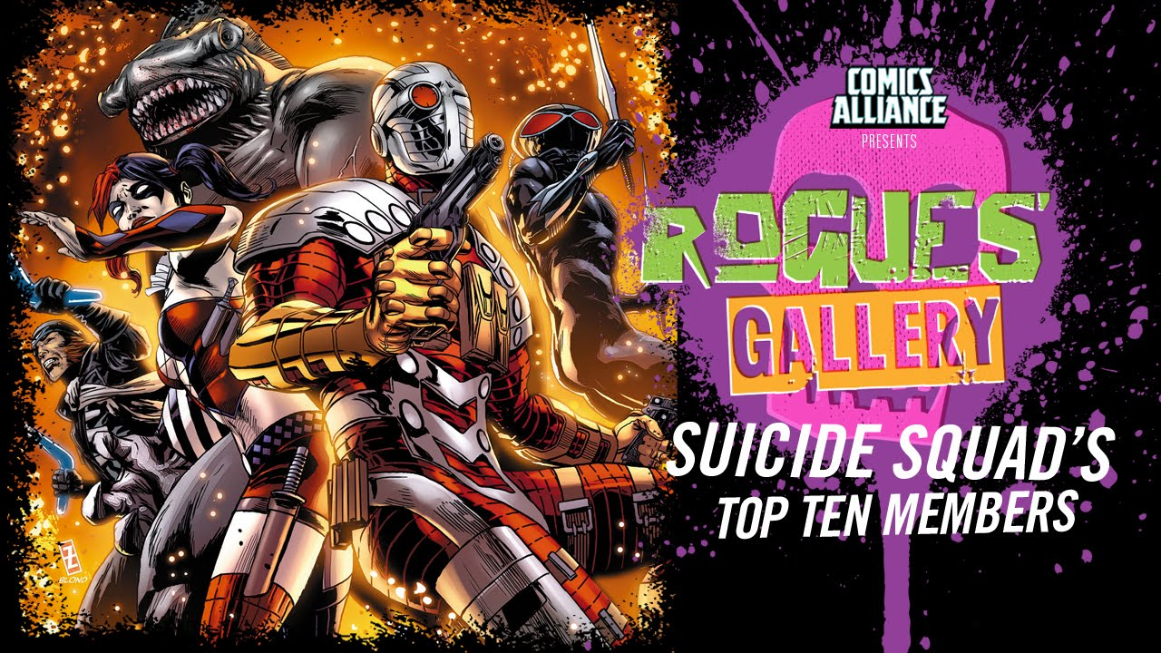 10 Best Suicide Squad Members - Rogues' Gallery - YouTube