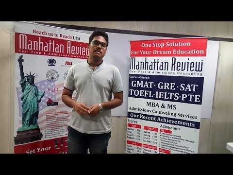 MS Admission Services - Manhattan Student Testimonial | Sai Varun