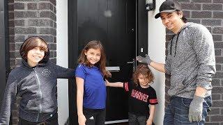 مفاجأة الأطفال ببيت جديد في لندن!