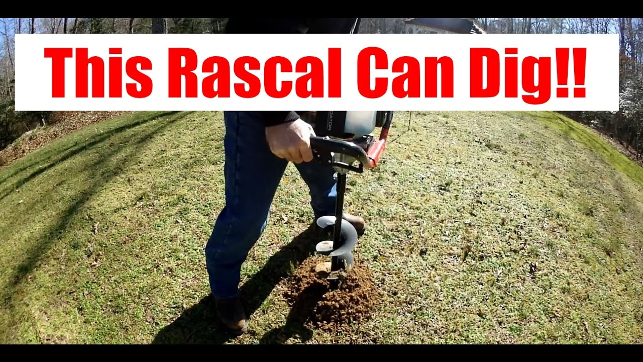 Harbor Freight S Tasmanian Devil The 52cc Auger Powerhead Youtube