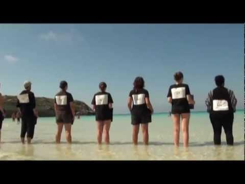 Flashmob di Amnesty a Lampedusa - 20/07/2012