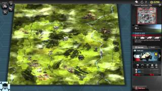 Panzer Tactics HD   GamePlay PC 1080p
