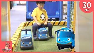 타요 꼬마버스 키즈 카페 어린이 놀이터 모음 ♡ The Little Bus Car Tayo Kids Indoor Playground тайо | 말이야와아이들 MariAndKids