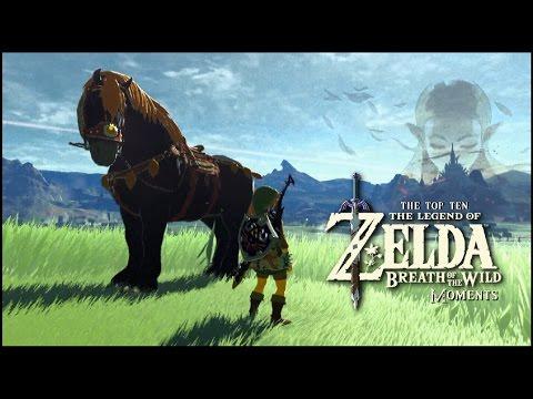 Top 10 Zelda Breath of the Wild Moments