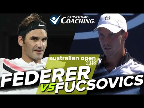 2018 Australian Open: Roger Federer vs Marton Fucsovics Post Match with Pete