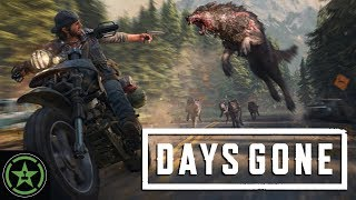 DEACON'S HOG VS ZOMBIE DOG - Days Gone | Let's Watch