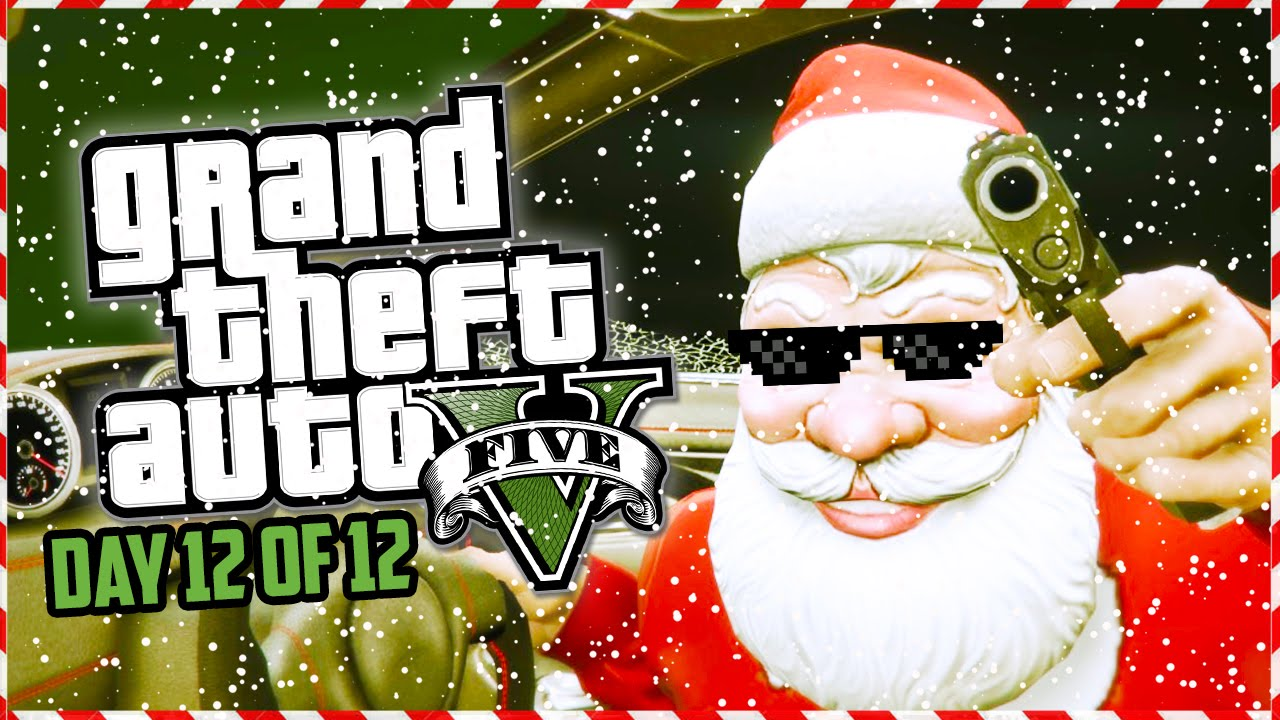 GTA 5 Funny Moments - CHRISTMAS HEISTS! Custom Heist Jobs
