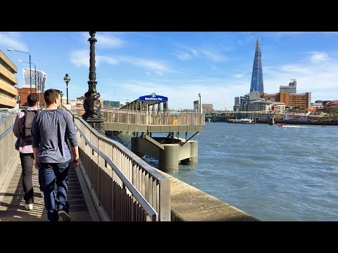 LONDON WALK | Victoria Embankment to Paul's Walk by the River Thames | England