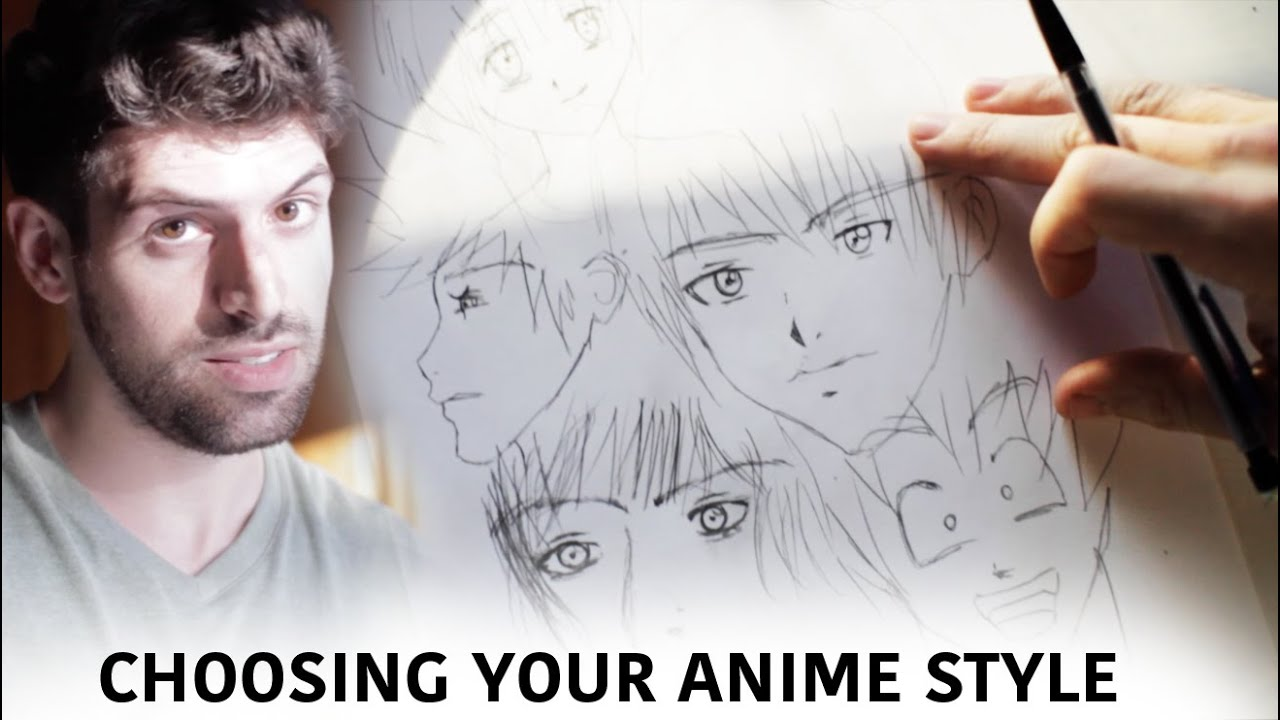 Choosing Your Anime Or Manga Drawing Style