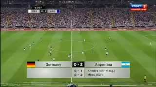 Lionel Messi Goal in GERMANY 1-3 ARGENTINA Friendly Game 15 08 2012