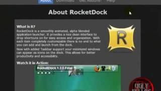 HOW TO GET ROCKETDOCK (BEST THING IT'S FREE)