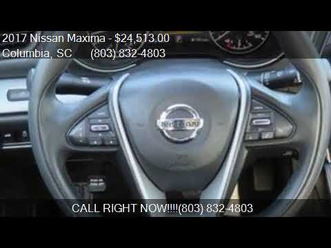 2017 Nissan Maxima  for sale in Columbia, SC 29212 at LOVE C