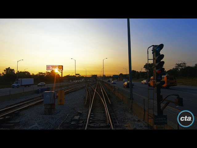 CTA's Ride the Rails: Blue Line to O'Hare Real-time (2019)