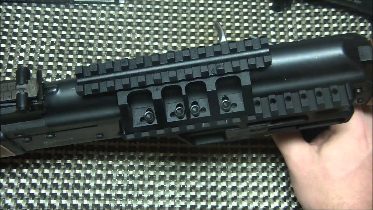 Rs Regulate Ak 307 Scope Mount For Yugo Pattern Ak Rifles