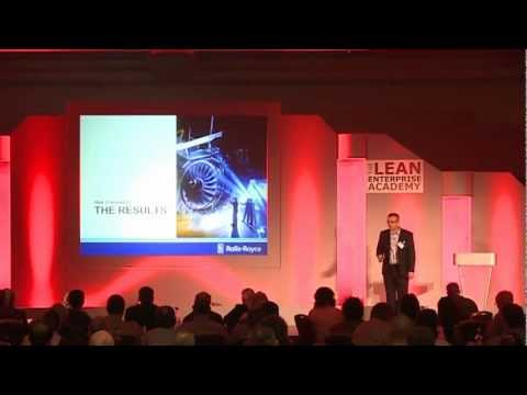 Lean Summit 2012 - Brendan Hindle, Rolls-Royce - Developing Lean Capabilities