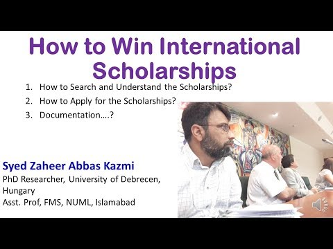 How to Win the International Scholarships || 10 Steps to Secure the Scholarship