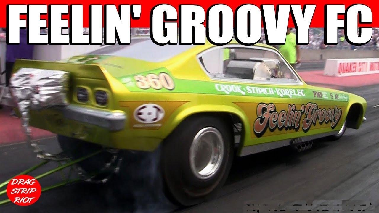 Classic Funny Car: 2015 Nostalgia Classic Funny Car Nationals Drag Racing