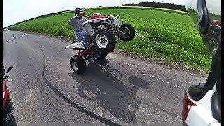 To Nie Był Dobry Pomysł! - Popek i Biker Boyz TV - Wjeżdża Gang Quadów!