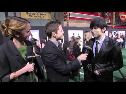 THE GREEN HORNET INTERVIEW WITH JAY CHOU AT HOLLYWOOD PREMIERE 1-10-11