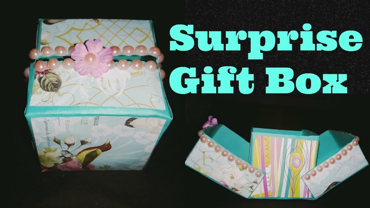 How To Make Surprise Gift Box