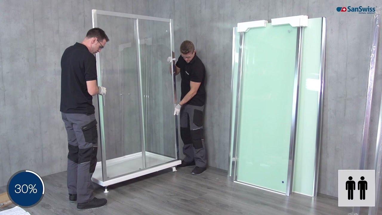 cabine int grale modul 39 r montage youtube. Black Bedroom Furniture Sets. Home Design Ideas