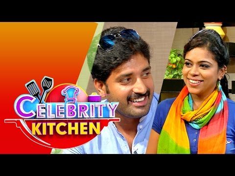 Actress Chitra & Actor Shyam in Celebrity Kitchen (05/07/2015)